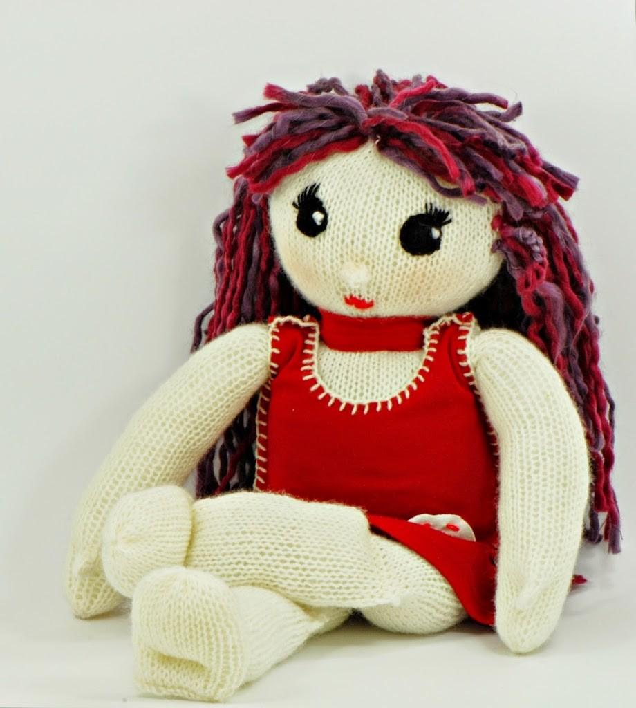 grande bambola di maglia 3