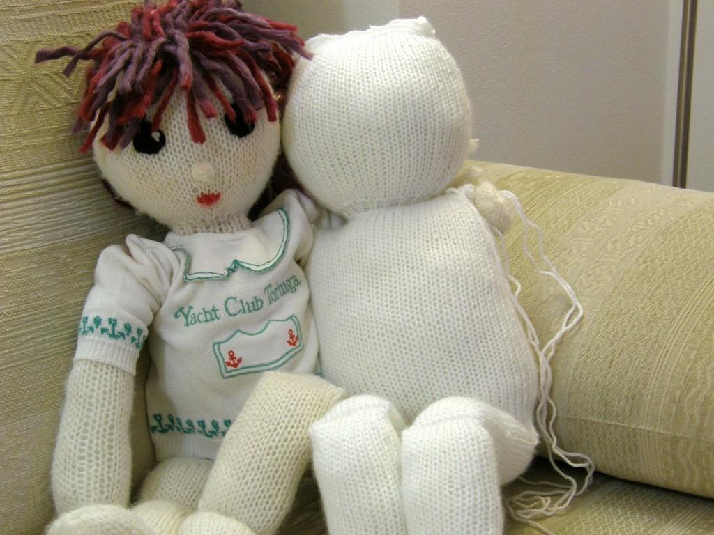 grande bambola di maglia 4